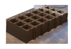 محصولات تولید شده توسط دستگاه متحرک بلوک زن و جدول زن KAD1400